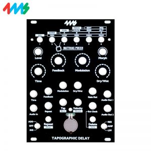 4ms Tapographic Delay Faceplate Black