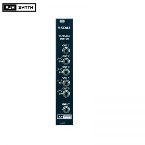 AJH Synth MiniMod V-Scale Black