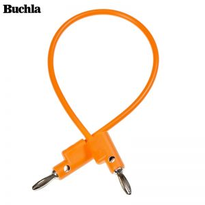 Buchla Banana Cable 25cm Orange