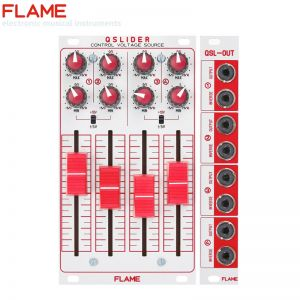 Flame QSlider Quad Control Voltage Source