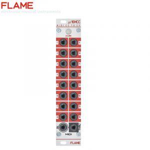 Flame u16MCC MIDI CC-to-CV