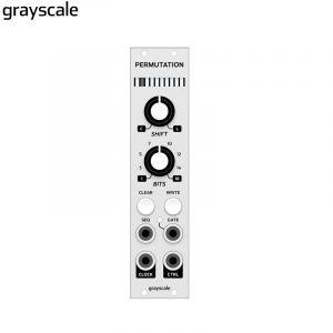 Grayscale Permutation Silver 6hp
