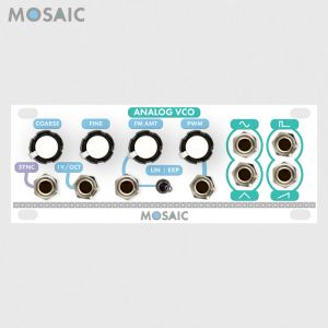 Mosaic Analog VCO White