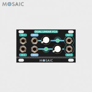 Mosaic Dual Linear VCA Black