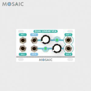 Mosaic Dual Linear VCA White