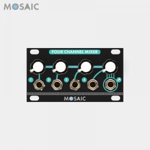 Mosaic Four Channel Mixer Black