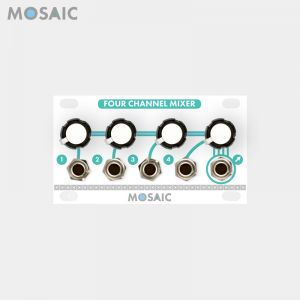 Mosaic Four Channel Mixer White