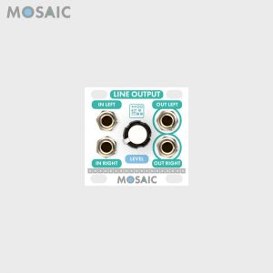 Mosaic Line Output White