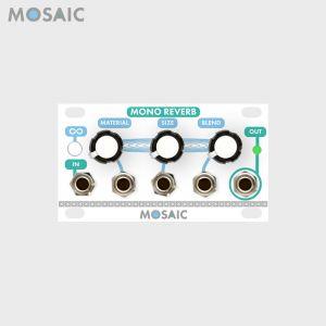 Mosaic Mono Reverb White