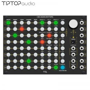 Tiptop Audio Circadian Rhythms Black Edition