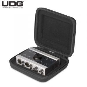 UDG digi wallet small black/orange