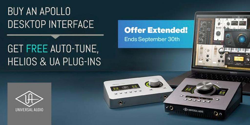 Free Plug‑Ins with Apollo Desktop Purchase