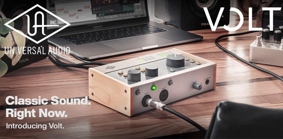 Universal Audio Volt Introduction
