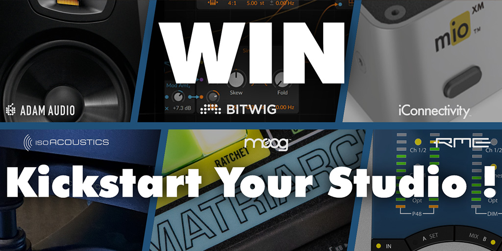 Win and Kickstart Your Studio