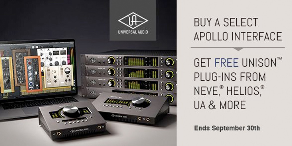 Apollo + Unison Plug-In Promotion