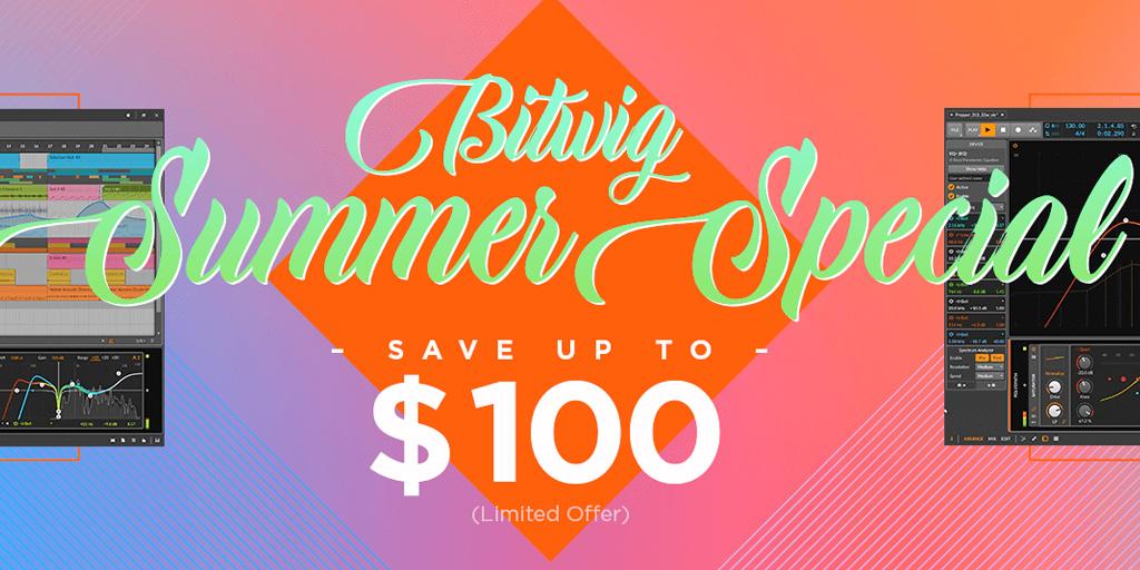 Bitwig Summer Special