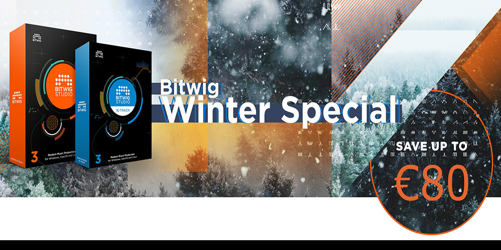 Bitwig Studio 3 Winter Special 2020