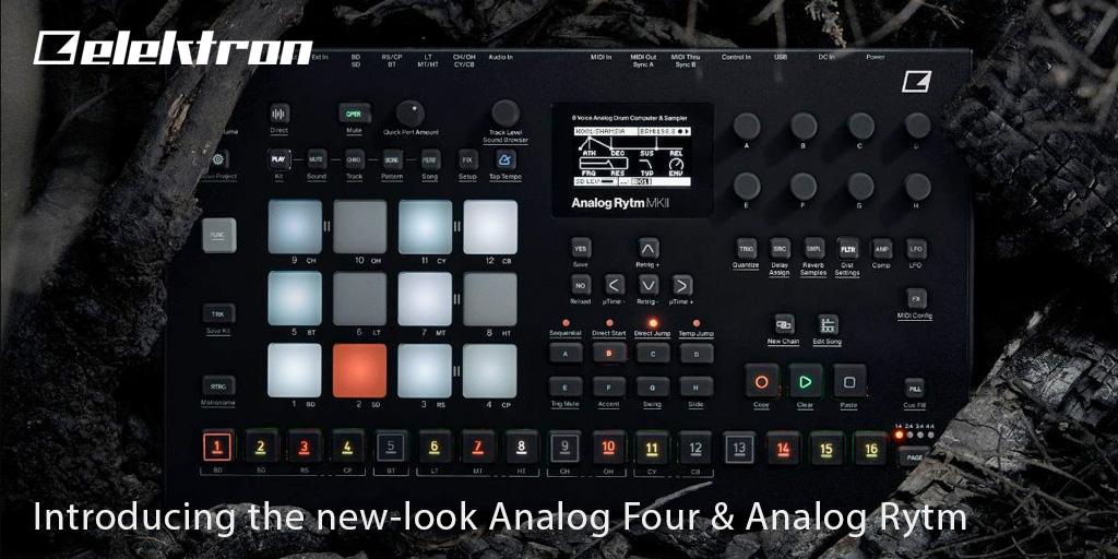 Elektron Introducing the new-look Analog Four & Analog Rytm