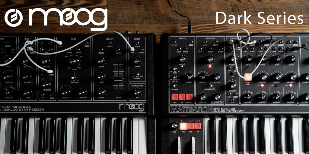 Moog Introducing Dark Series
