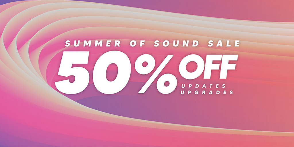 Native Instruments Summer of Sound 2021 50% off