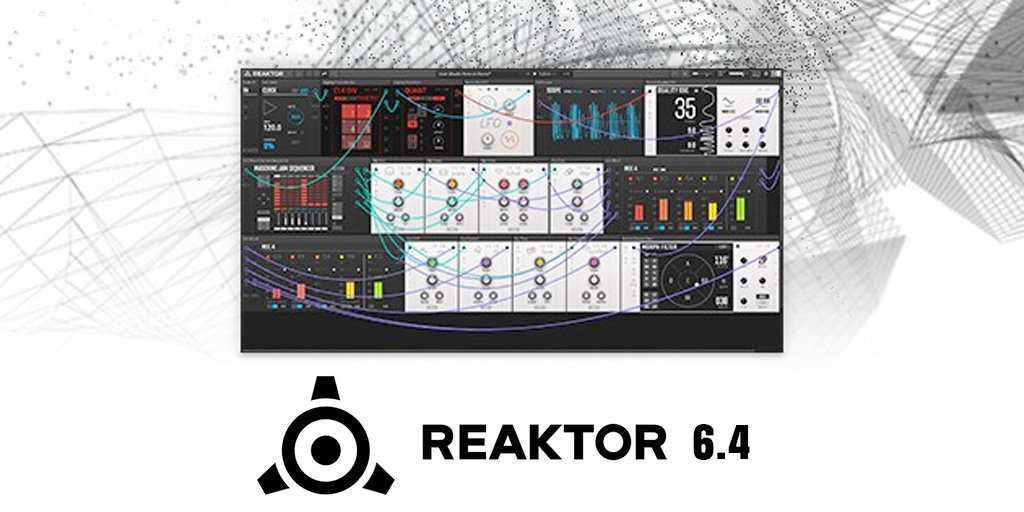 Native Instruments Reaktor 6.4 update