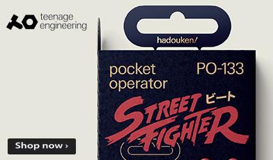 Teenage Engineering Street Fighter pocket operator PO-133