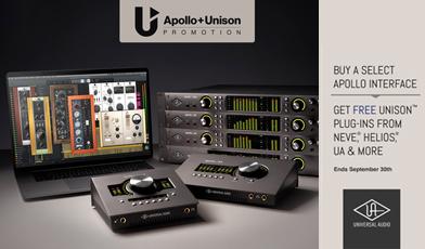 Universal Audio Promo Q3 2020